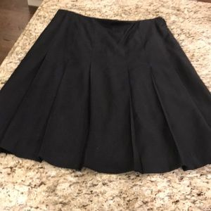Woman's black skirt